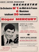 Photo historique de l'orchestre Mercury